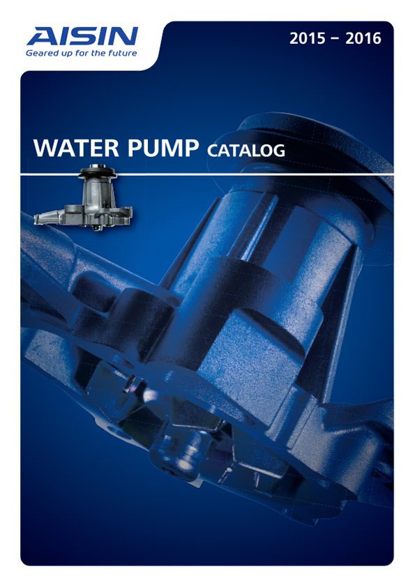 2015 Aisin Seiki Water Pump Catalog