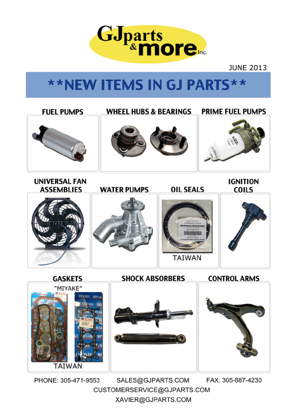 2013 New Items Catalog