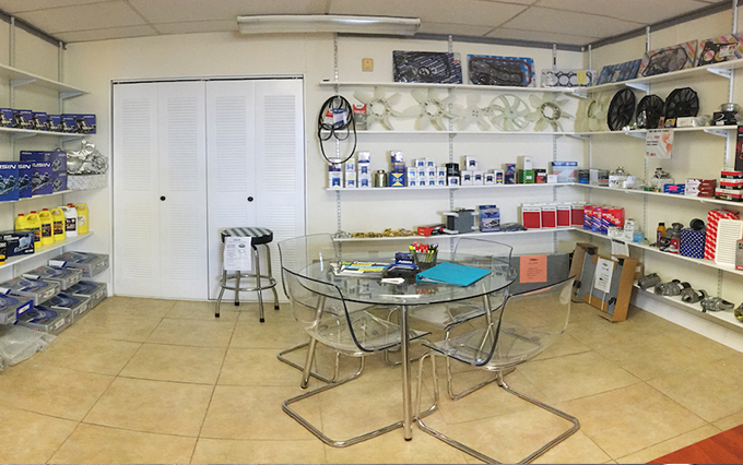 GJ Parts Office Showroom
